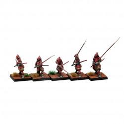 Samurai con lanza